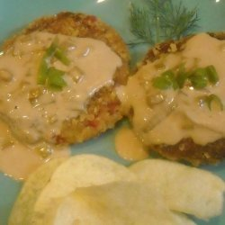 Crab Cakes With Chardonnay Cream Sauce recipe