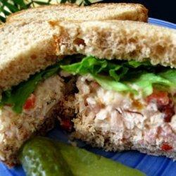 Tink's Chicken & Tuna Salad Sandwiches recipe