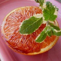 Grapefruit (Or Cara Cara Orange) With Pomegranate Syrup for 1 recipe