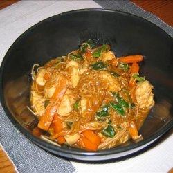 Teriyaki Chicken Noodles recipe