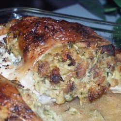 Easy Cheesy Stuffed Chicken recipe