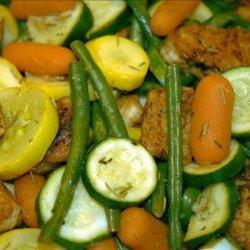 Citrus Chicken With Vegetables recipe