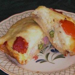 Kathy's Ham Strata recipe