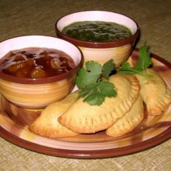 East Indian Vegetable Samosa Pastries recipe