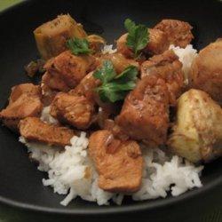 Chicken Stew With Artichokes and Garlic recipe