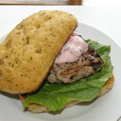 Cranberry Bog Turkey Burgers recipe
