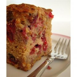 White Chocolate Fresh Cranberry Coffee Cake recipe