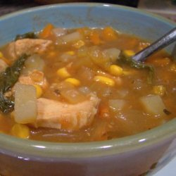 Crock Pot Chicken Corn Soup recipe