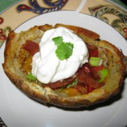 Bacon Potato Skins recipe