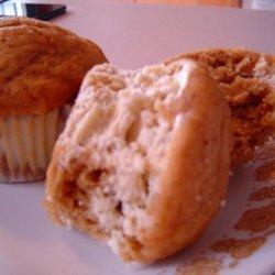 No Sugar Added Pumpkin Cream Cheese Muffins recipe