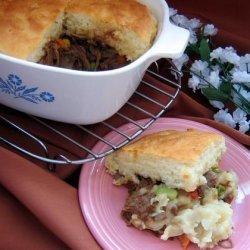 Shepherd Pie With Leftover Roast Beef and Potatoes by Paula Deen recipe