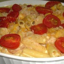 Mum's Homemade Macaroni Cheese With Bacon recipe