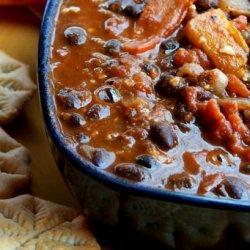 Boston Black Bean Chili recipe