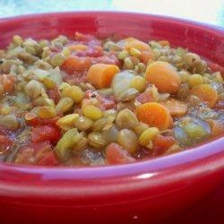 Lucky Lentils recipe