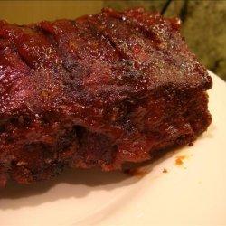 Carolina Barbecued Baby Back Ribs recipe
