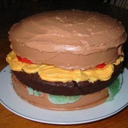 April Fools' Day  Cheeseburger Cake recipe