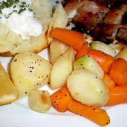 Roasted Carrots and Parsnips With Meyer Lemons recipe