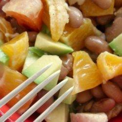 Citrus and Black Bean Salad recipe