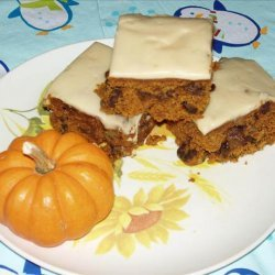 Pumpkin Squares With Browned Butter Frosting recipe