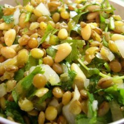 Salad of Lentils and Coriander recipe