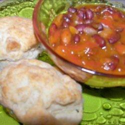 Three Bean Bake recipe