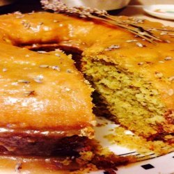 Garden Lavender Pound Cake recipe