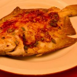 Flounder Fillets Grilled in Foil With an Asian Touch recipe