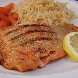 Cumin Dry Rub Salmon recipe