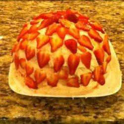 Strawberry Jam Cake With Fresh Berry Frosting recipe