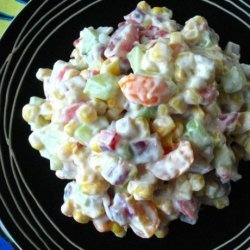 Low Fat Confetti Corn Salad recipe