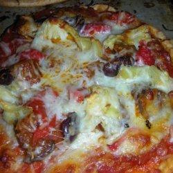 Antipasto Pizza recipe
