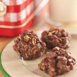 No Bake Chocolate Peanut Butter Drops recipe