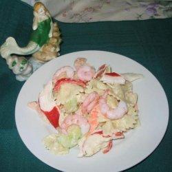 Yummy Seafood Pasta Salad recipe