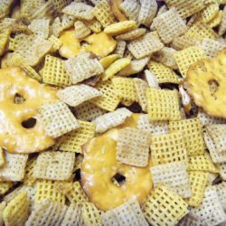 Great Grandma Pady's Traditional Chex Party Mix recipe
