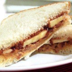 BBQ & Nut Sandwich recipe