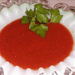 Velvety Tomato Wine Sauce recipe