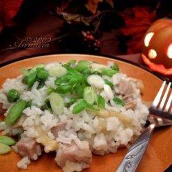 Rice and Pork Casserole recipe