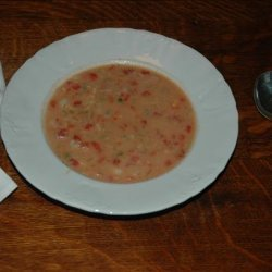 Red and White Clam Chowder recipe