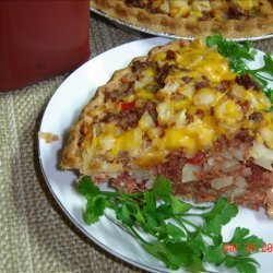Corned Beef Hash Pie recipe