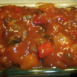 Meatloaf W/ Sweet and Sour Sauce recipe