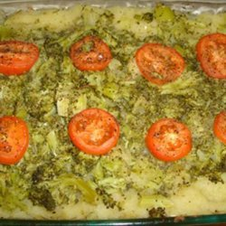 Squash and Broccoli Casserole recipe
