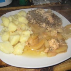 Rosemary Chicken With Apples and Onions recipe