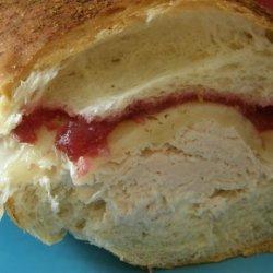 Hot Turkey and Cranberry Sandwich Aka Turkey Gone Wild recipe