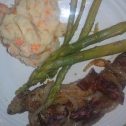 Veal Liver With Onions & Bacon recipe