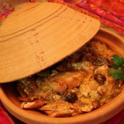 Moroccan Tagine of Chicken With Apricots recipe