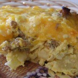 Easy Country Breakfast Casserole recipe
