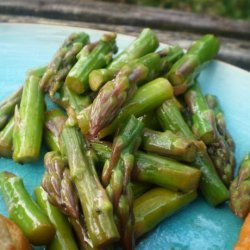 Asparagus Salad With Honey Poppy Seed Vinaigrette recipe