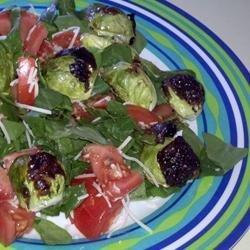 Aunt Karen's Brussels Sprouts Salad recipe