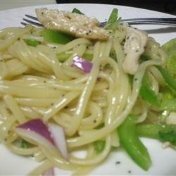 Chicken Poppy Seed Pasta Salad recipe