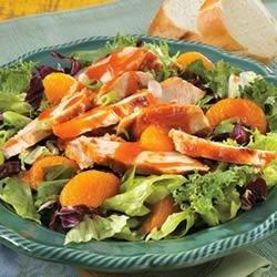 Grilled Chicken and Orange Salad recipe